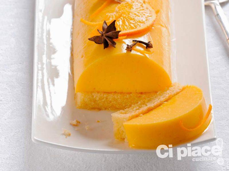 Panna cotta all'arancia