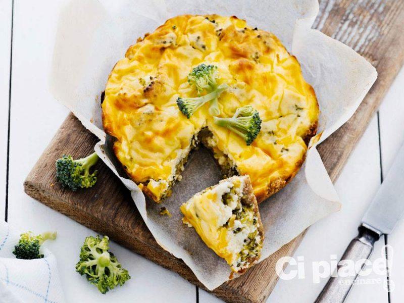 Pasticcio salato con broccoli