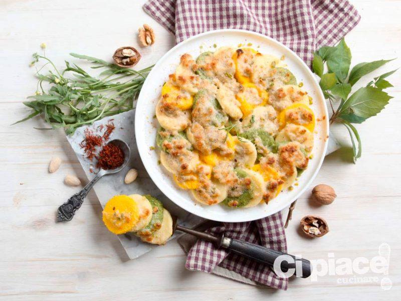 Gnocchi di semolino con ragù di frutta secca