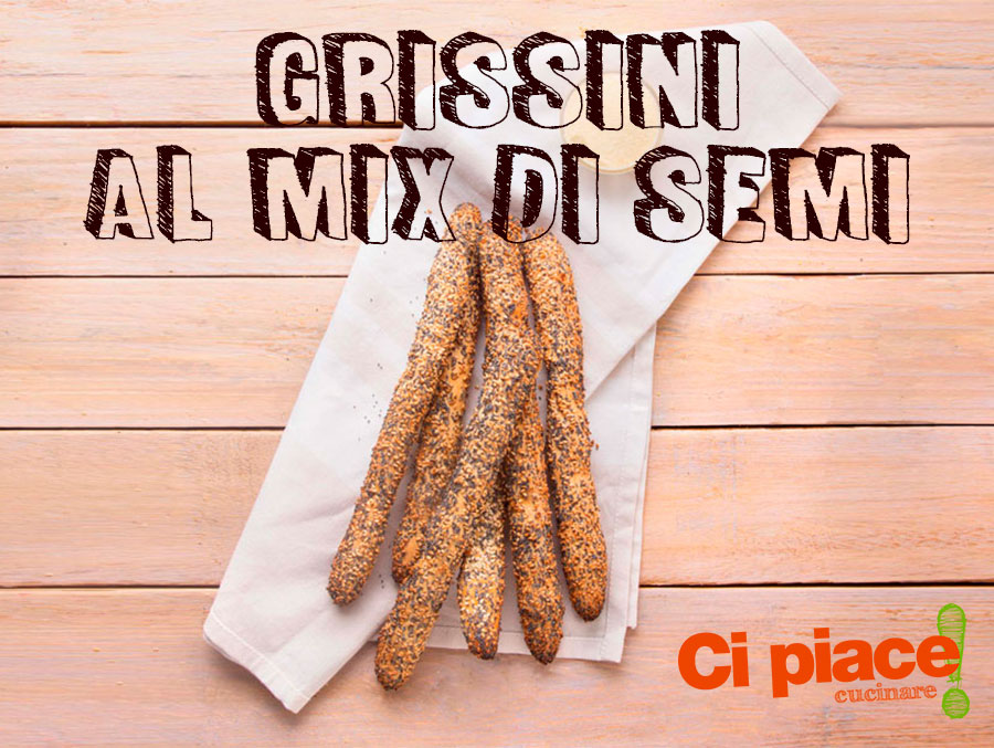 Grissini al mix di semi