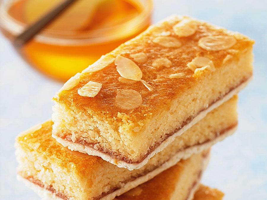 Barrette soffici al miele