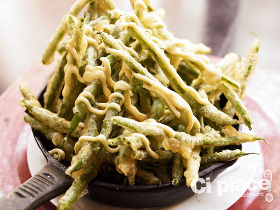 Fagiolini in tempura ci piace cucinare - Cucinare i fagiolini ...