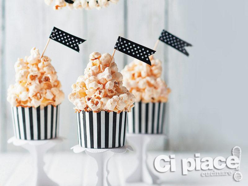 Dolci coppette di Popcorn