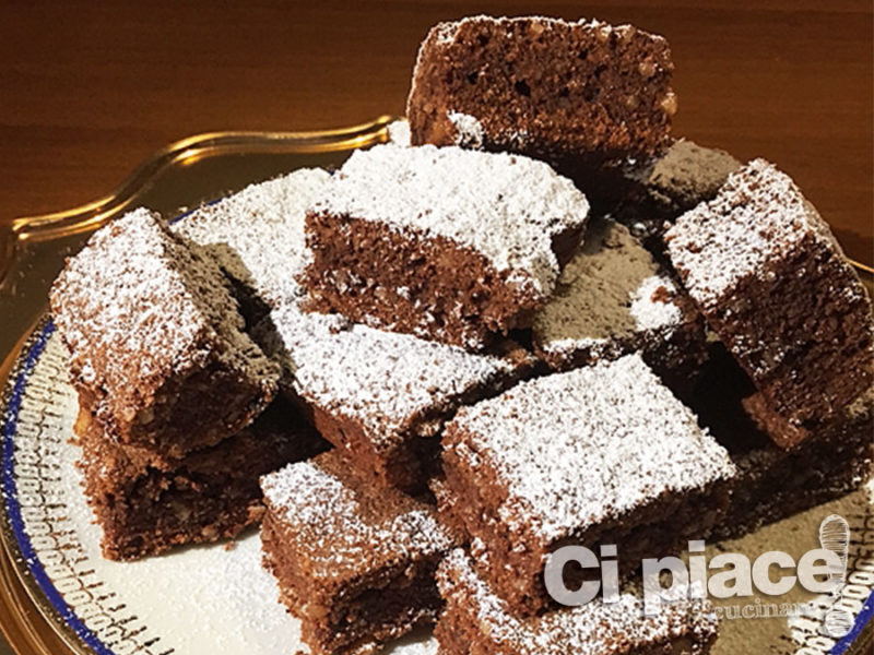 Brownies con noci