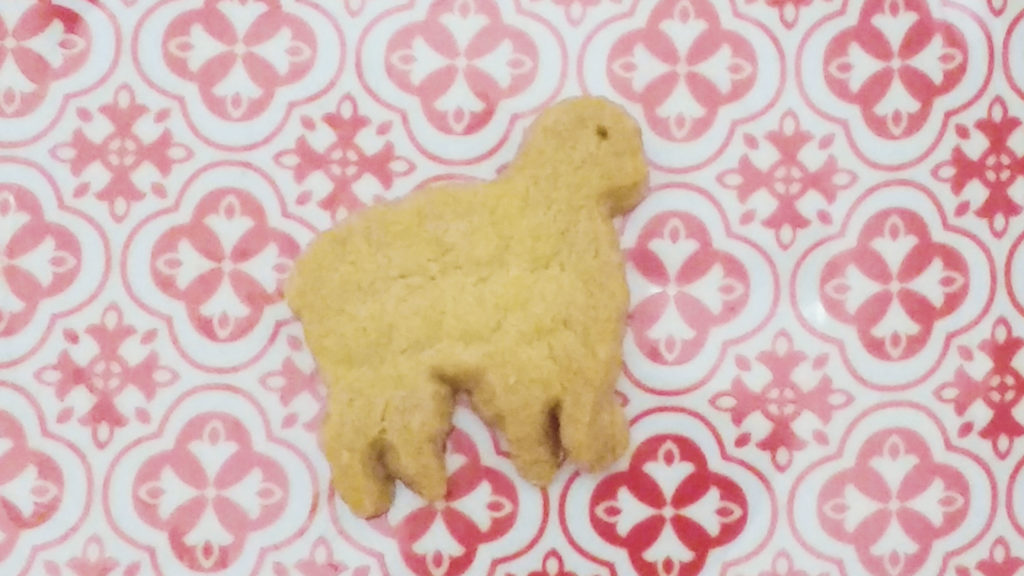 Sheep shortbread