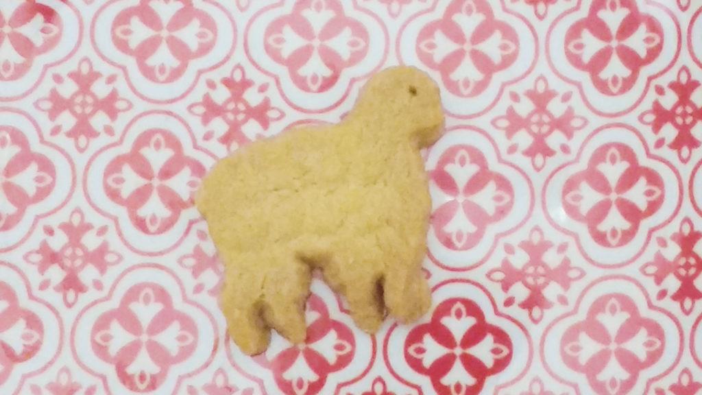 Sheep shortbread