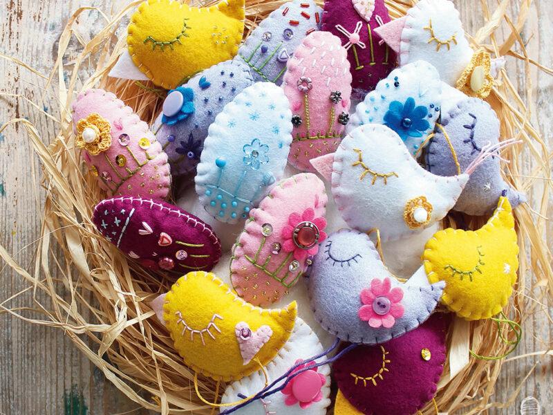 Sagome di uova e pulcini